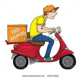 Urgent Opening For Delivery Boy In Ahmedabad Paldi Location.