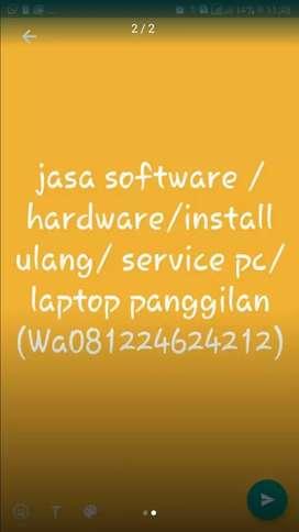 installasi komputer / instalasi jaringan / servis