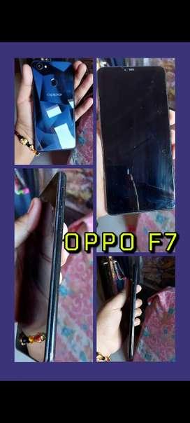 Oppo f7 kondisi bekas 90% masih bagus dan ori