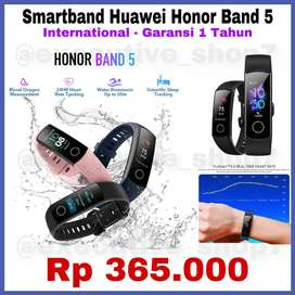 Smartwatch Smart Watch Huawei HONOR BAND 5 International Garansi 1 Thn