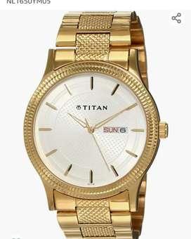 TITAN watch model no. NL1650YM05 BRAND NEW