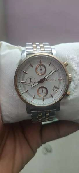 Fossil rose gold watches