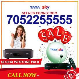 NEW HD BOX TATA SKY DTH