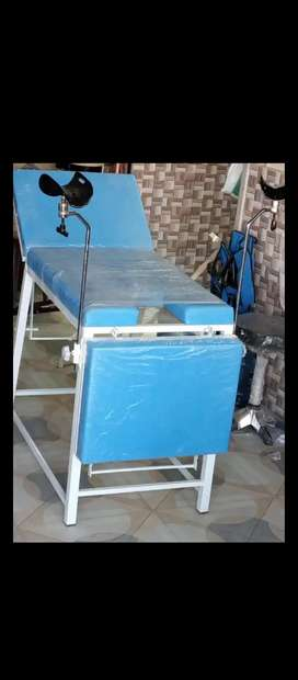 Guinea Table, Examination Couch - Delivery Table - Drip stand