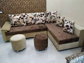 Brand New L Shape sofa Chester Design Available in lowest price
