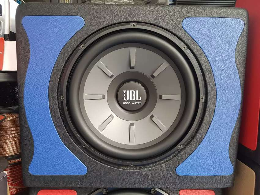 Sub JBL STECK doble coil + box suara bulat (asy'ari audio)