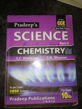 class 10th chemistry guide book of cbse
