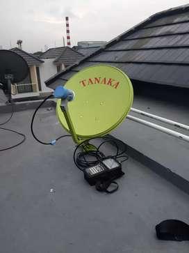 WN parabola mini anten bebas iuran