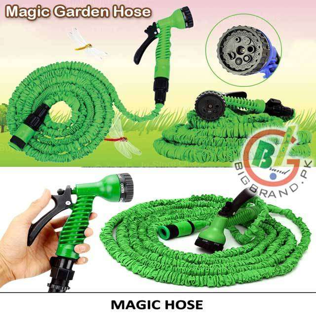 Magic Hose Water Pipe 100ft for Garden & Car wash 0
