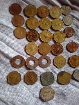 Powerful old rare 120 coins sale.