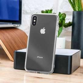 Case iPhone XS / X FUSION Transparan Anti Crack Casing Bening Clear