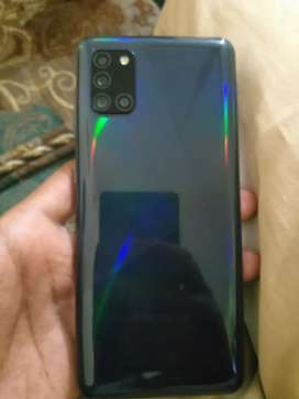 samsung A31 one month used
