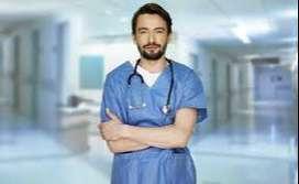 Immediately need Male Nurse