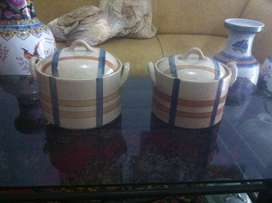 Mangkok kramik sepasang