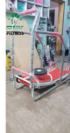 Box Pack Manual Jogger Treadmill| Roller Jogging Machine For Home