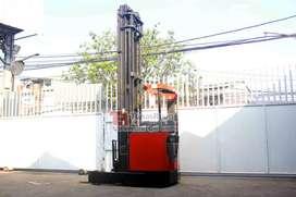 BT Reach Truck Mast 10 Meter Forklift Bekas Jakarta