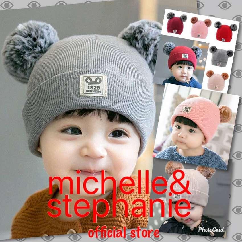 M&S ICTK42 - Topi Kupluk Wool Rajut Hangat Anak Laki-laki / Perempuan