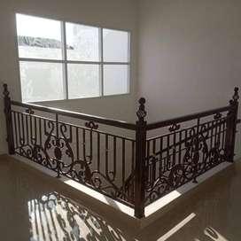 Railing balkon dan tangga