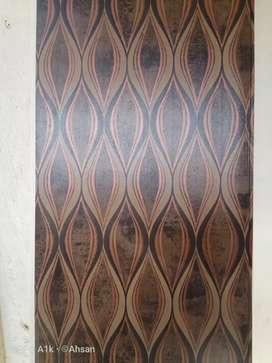 PVC wall panels for sepage walls