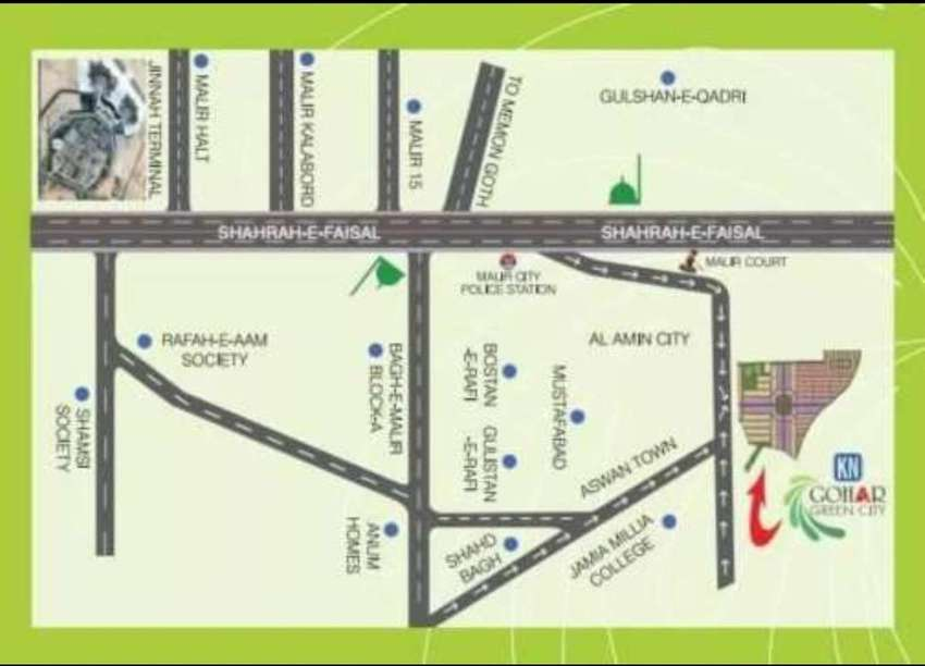 Gohar green city banglow sale 80 sq yard 0