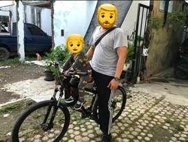 Boncengan Sepeda Anak, Sepeda MTB Bisa Tambah Sadel Empuk Murah Meriah