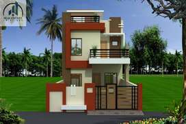 fully furnished 3 bhk duplex in pushpak  nagar  near smriti nagar