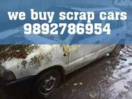 We buy old cars in scrap total loss car buyer