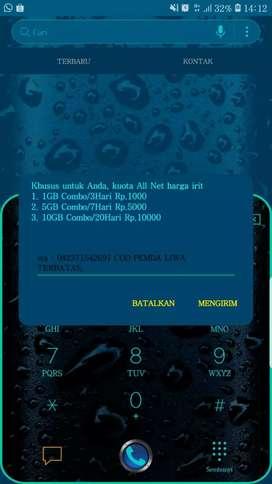 Kartu perdana kuota telkomsel 10GB 10RB bisa isi ulang sendiri 24 jam