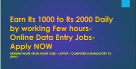 Simple Online Data Entry jobs - Best work from Home jobs - Apply NOW