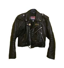 TRIUMPH Leather Jacket 1949 Black USA Size M 100% Original