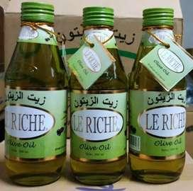 minyak zaitun le riche ori ada embos botol min beli 3btl