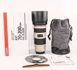 New & Not Used Canon EF 70-200mm f/4L IS USM Lens