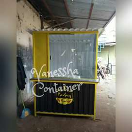 BOOTH SEMI CONTAINER / CONTAINER USAHA / BOOTH DAGANG / CONTAINER CAFE