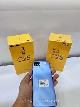Realme C25 4/64 New Segel Free Kuota 31,5GB 040