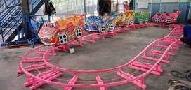 RAA Mini coaster jual wahana mainan kereta odong