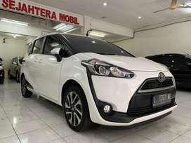 "Toyota Sienta V Matic 2016 ""KM30rb"" Pajak Baru Kredit DP 45jt"