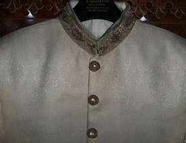 Sherwani (Light Golden color)