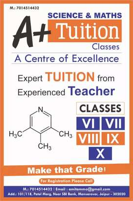 Science & maths classes