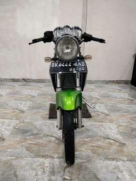 Kawasaki ninja SS hijau tahun 2014