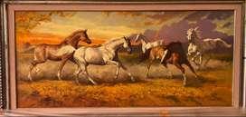 Lukisan Kuda by Ronald Djaling