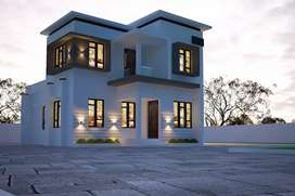 Low budget villa for sale  at kozhikode