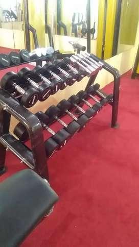 Gym setups and equipments