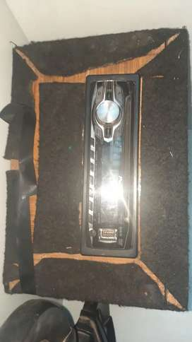 Sony xplod car system with tape