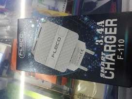 Batok kepala charger FLECO 3,4 A