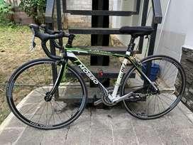 Roadbike Mosso 730 TCA size 48 berat 9kg