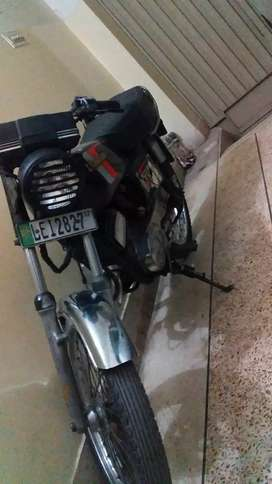 Kawasaki 110     model no 1987 new registration 2017
