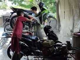 Butuh Anggota Cucian Motor Hidrolik
