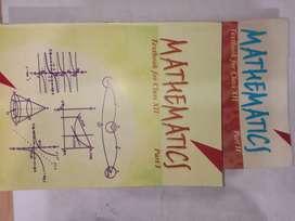 class 12th Mathematics NCERT part 1&2