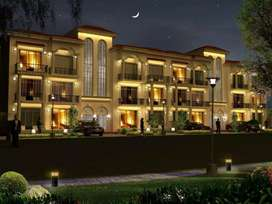 Beautifully landscaped gated colony with 24*7 security.