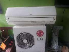 Ready stok ac 0.5pk merk LG
